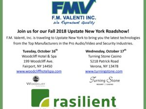 FM Valenti Hosts Rasilient in Upstate New York Fall Shows